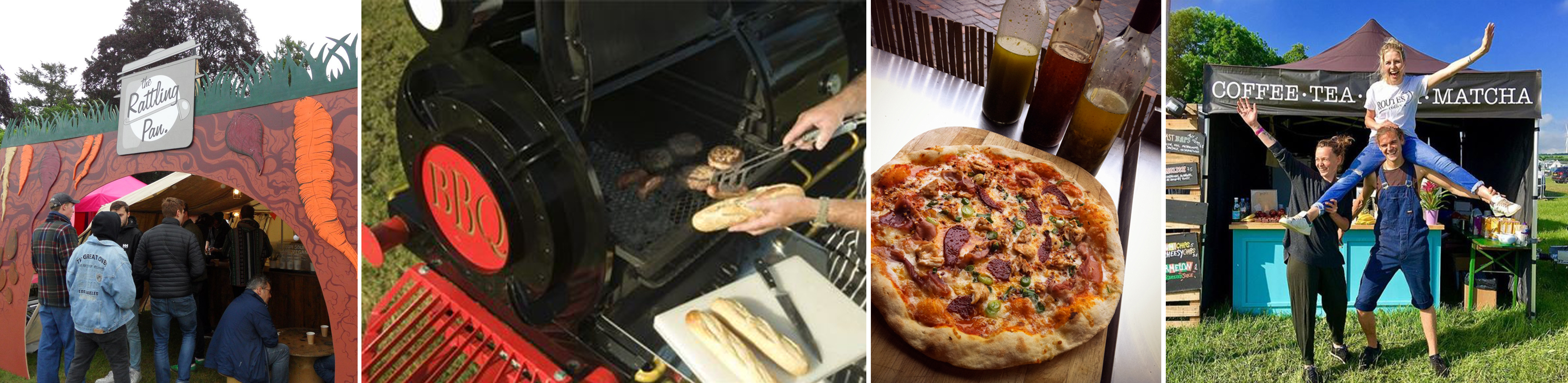 Food from the Rattling Pan, Westlands BBQ, Pizza of Dreams and Routes Coffee