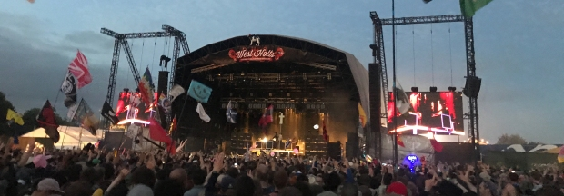 Justice play the West Holts as headliners
