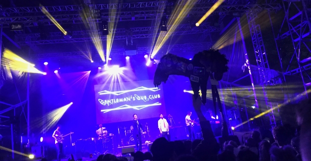 Gentleman's Dub Club at the Truth Stage, Shangri La with George the Horse