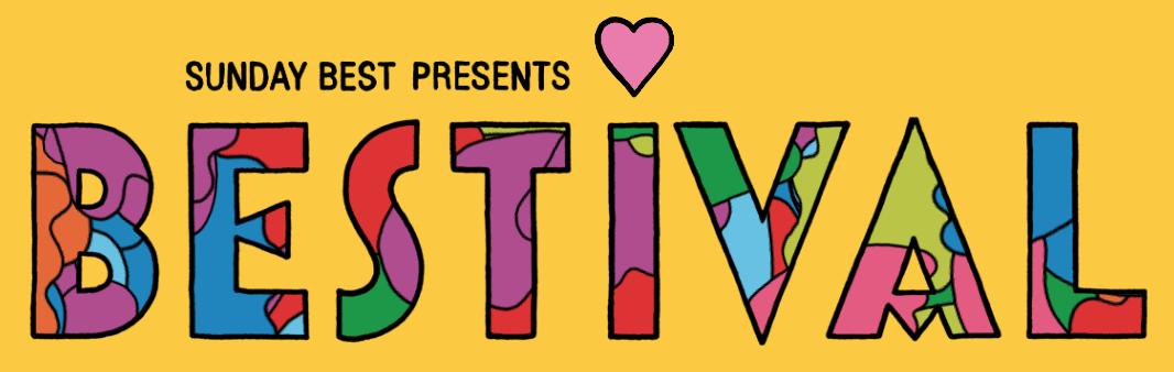 Bestival 2017 logo colour