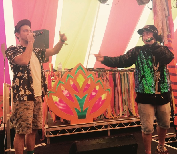 Too Many T's at Bestival not he Bollywood stage