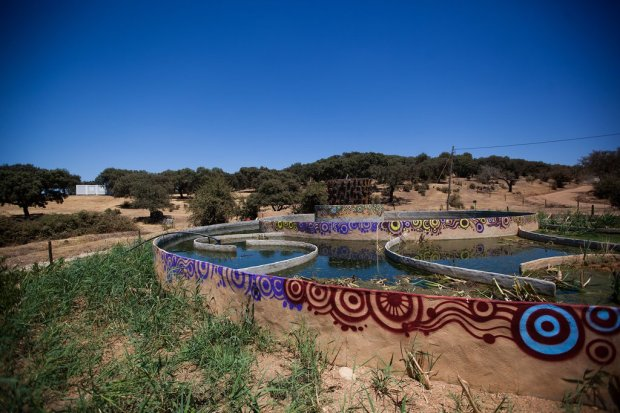 ETAR water filtration system at Boom Festival in Portugal