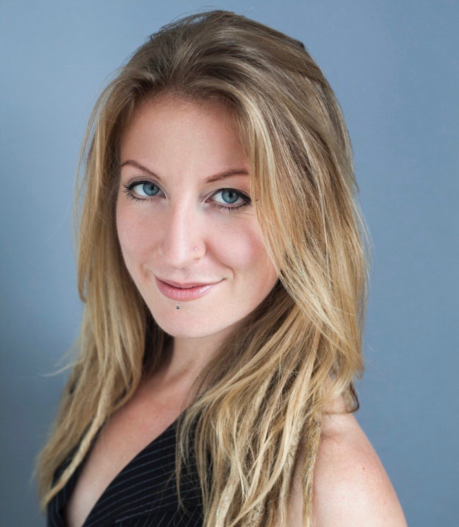 Claire O'Neill, cofounder of A Greener Festival. AGF award